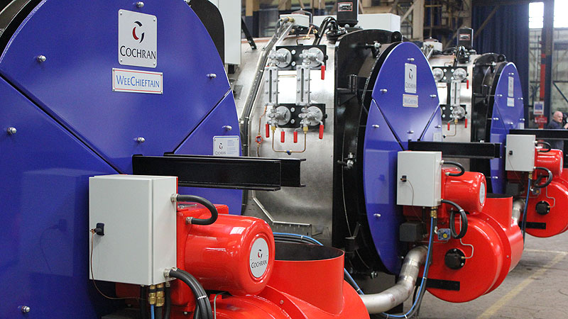 Steam Boiler Industrial Steam Boilers Cochran Uk