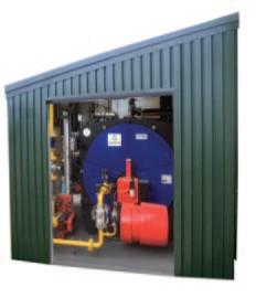 Prefabricated Boilerhouse Cochran